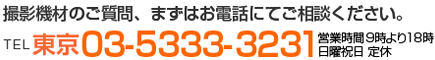 TEL 東京03-5333-3231